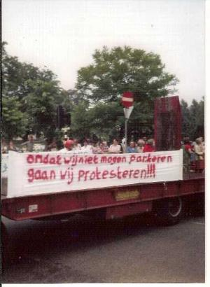 Truckers: protestrit in 1979